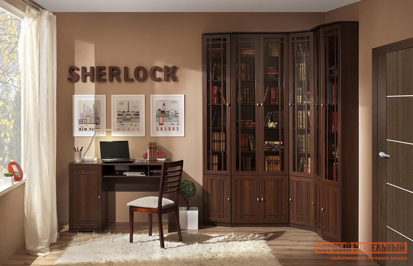 Фото - Стенка в гостиную без телевизора ТД Арника Шерлок Б1 стенка в гостиную тд арника берлин гк2
