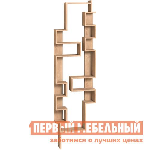 Стеллаж Глазов-Мебель Стеллаж Twist Дуб Беленый