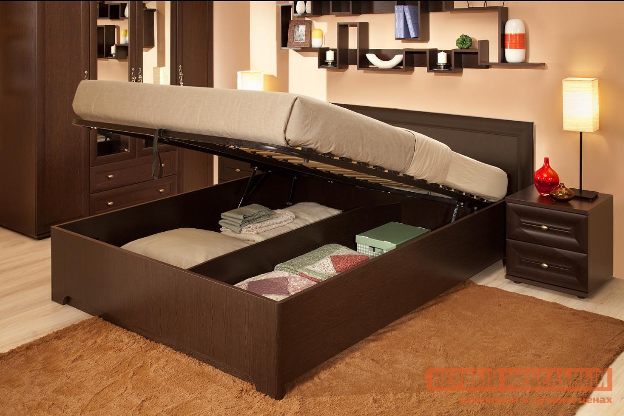 Полутороспальная кровать ТД Арника Анкона 3.2 изголовье кровати с полками тд арника принесса 08