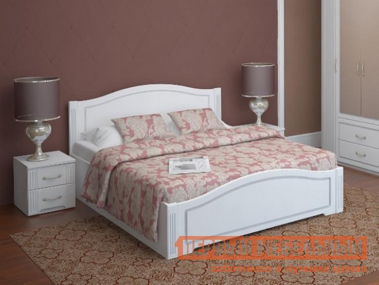 купить Полутороспальная кровать ТД Арника Виктория 33 с ПМ онлайн