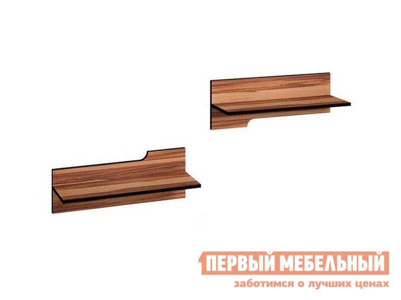 Комплект настенных полок Первый Мебельный Wyspaa 4 тумба под телевизор первый мебельный wyspaa 9 light