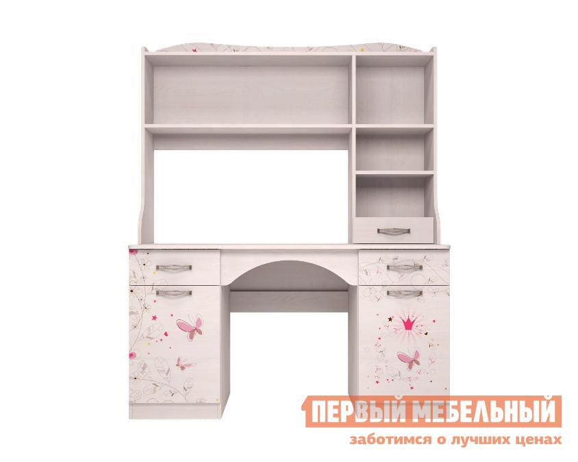 Компьютерный стол детский ТД Арника Принцесса (06) + Принцесса (11) шкаф для одежды тд арника принцесса 01 принцесса 01 принцесса 02