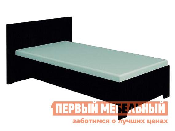 Односпальная кровать  Анкона 5 Венге, Без основания, 1200 Х 2000 мм