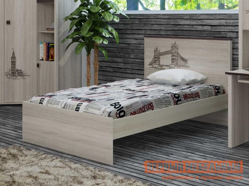 Детская кровать ТД Арника ИД 01.254 детская кровать тд арника 21 диван кровать