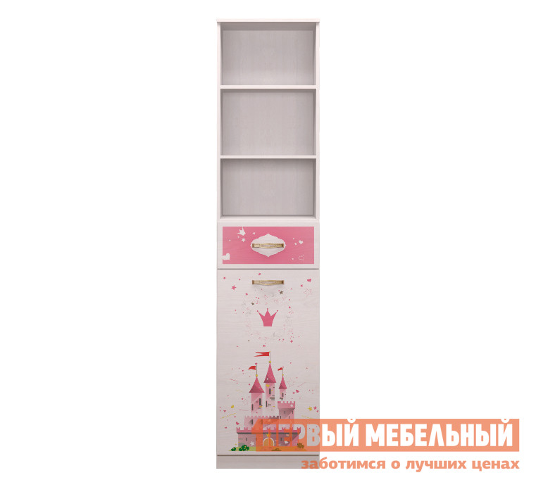 Стеллаж в детскую ТД Арника Принцесса (21) шкаф для одежды тд арника принцесса 01 принцесса 01 принцесса 02