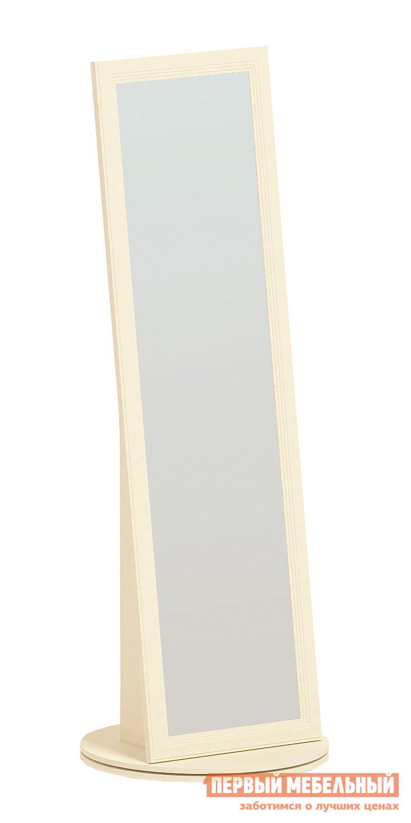 Напольное зеркало Заречье М17 Weave светлыйНапольные зеркала<br>Габаритные размеры ВхШхГ 1947x680x680 мм. Элегантное напольное зеркало выполнено из светлого дерева и имеет устойчивое основание.  Такая модель станет удачным дополнением вашего интерьера.  Благодаря высоте зеркала вы сможете видеть свое отражение в полный рост. Изделие выполнено из качественной ЛДСП толщиной 16 мм, качественный зеркальный элемент. Основание зеркала имеет поворотный механизм, что позволяет вращать зеркала до 360 градусов.  Размер зеркального полотна составляет (ВхШ): 1778 х 438 мм. Данное зеркало входит в комплект модульной серии «Ливадия».  Вы можете дополнить гарнитур элементами серии, создав свой собственный индивидуальный интерьер.<br><br>Цвет: Бежевый<br>Высота мм: 1947<br>Ширина мм: 680<br>Глубина мм: 680<br>Кол-во упаковок: 2<br>Форма поставки: В разобранном виде<br>Срок гарантии: 24 месяца<br>Тип: Поворотные<br>Назначение: Для спальни<br>Материал: Дерево<br>Материал: ЛДСП<br>Форма: Прямоугольные<br>На ножках: Да<br>В полный рост: Да<br>На подставке: Да<br>Тип рамы: В раме