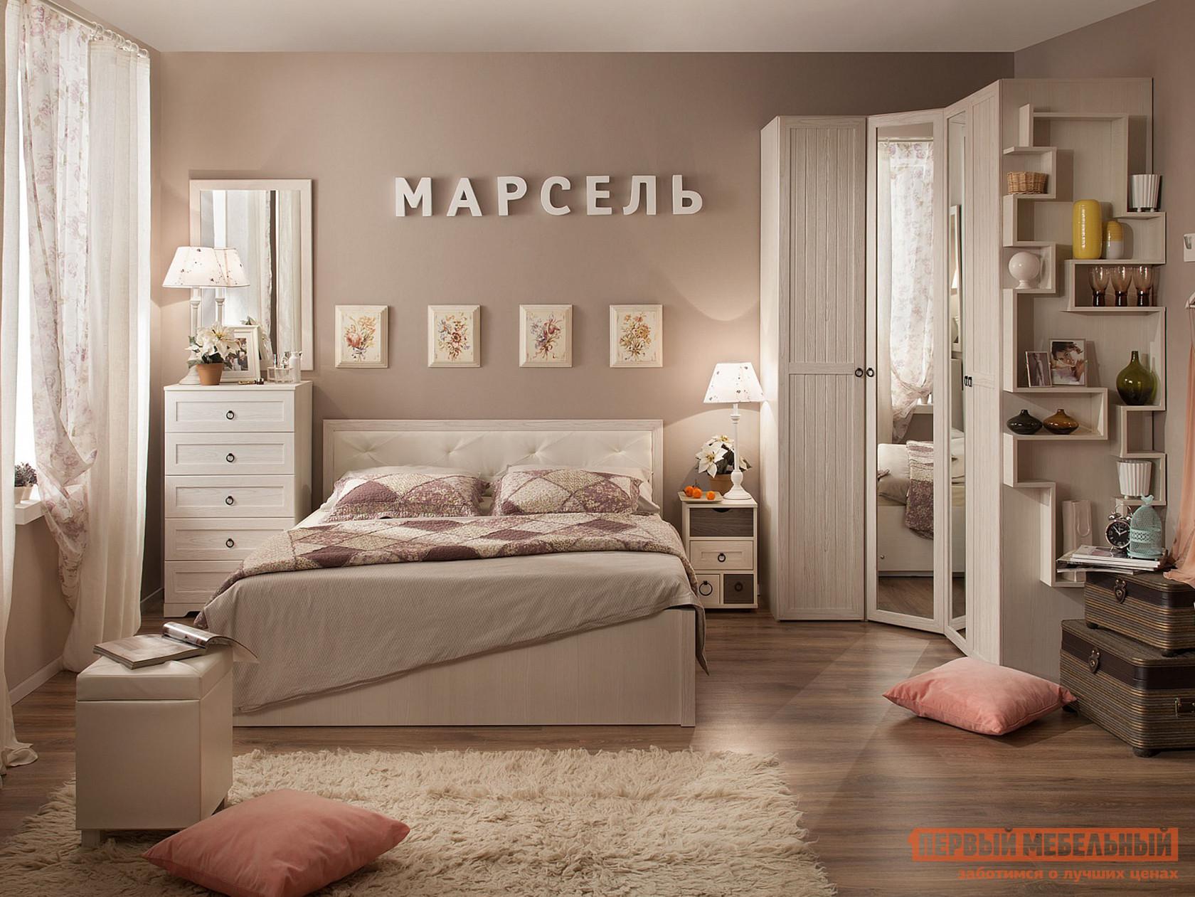 Спальный гарнитур ТД Арника Марсель Компоновка 1