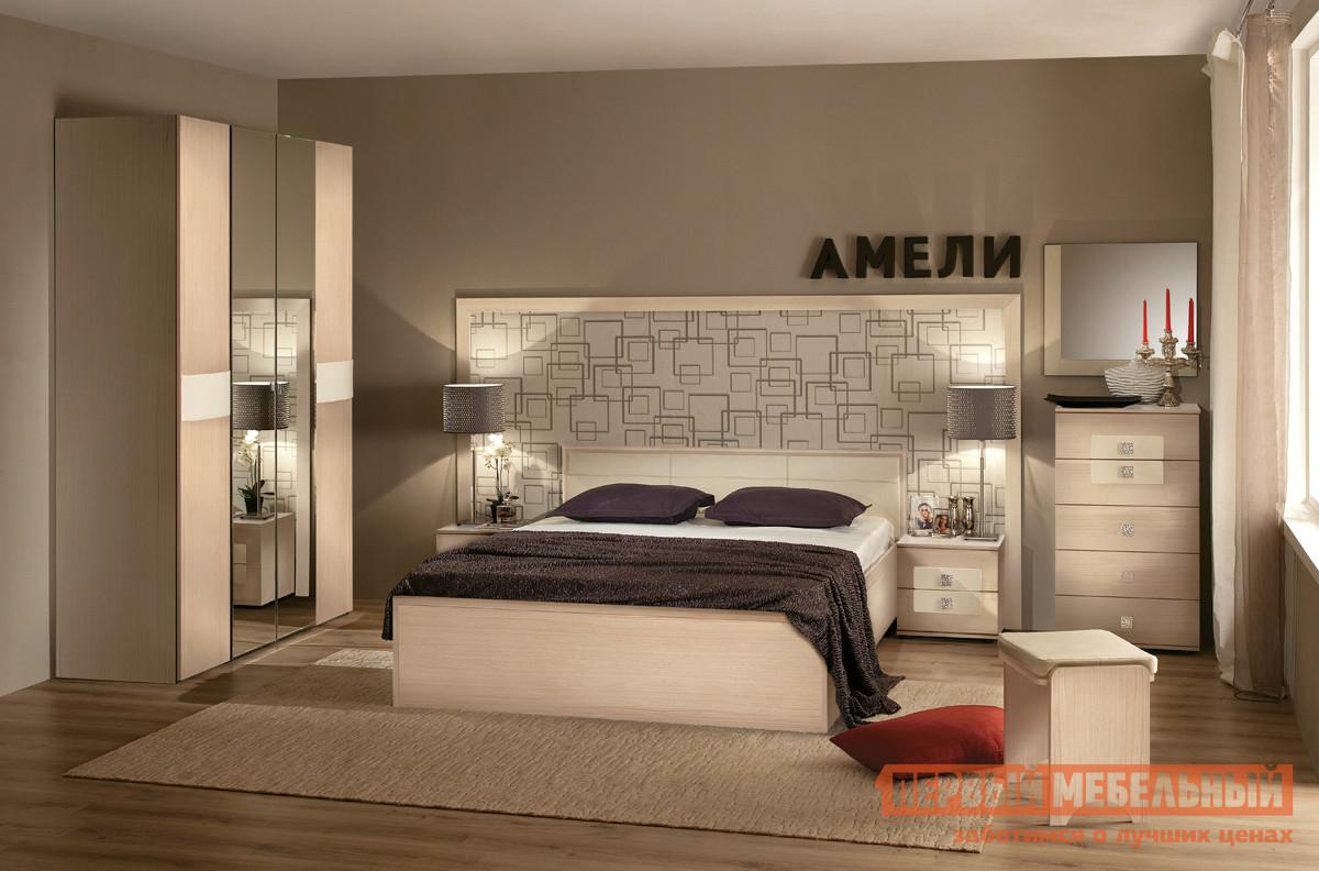 Комплект мебели для спальни ТД Арника Амели Дуб К2 комплект мебели для спальни трия амели к1