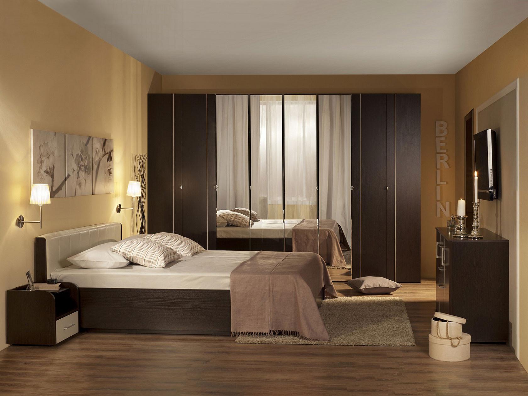 Комплект мебели для спальни ТД Арника Берлин К2 спальный гарнитур нк мебель комплект мебели для спальни тиберия к2
