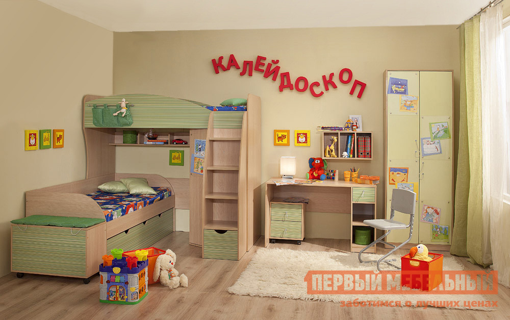 Комплект детской мебели ТД Арника Калейдоскоп К2 комплект детской мебели тд арника робинзон к1