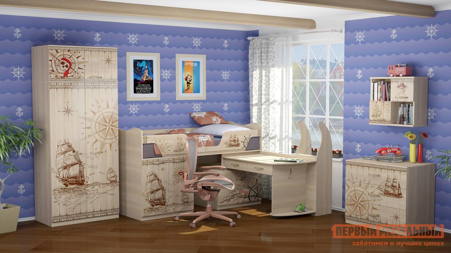 цена Комплект детской мебели ТД Арника Квест К1 в интернет-магазинах