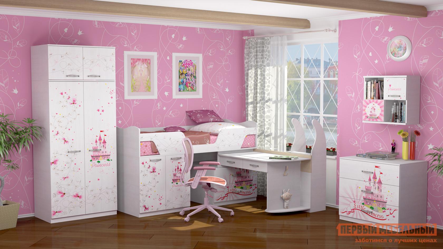 цена Комплект детской мебели ТД Арника Принцесса К1 в интернет-магазинах