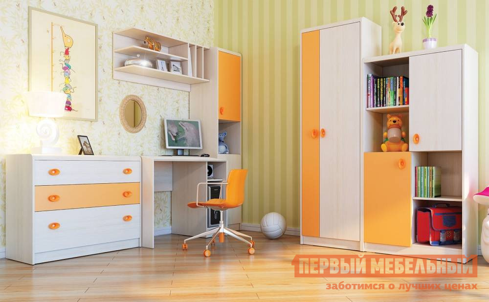 Комплект детской мебели ТД Арника Элион К1 комплект детской мебели трия прованс к1