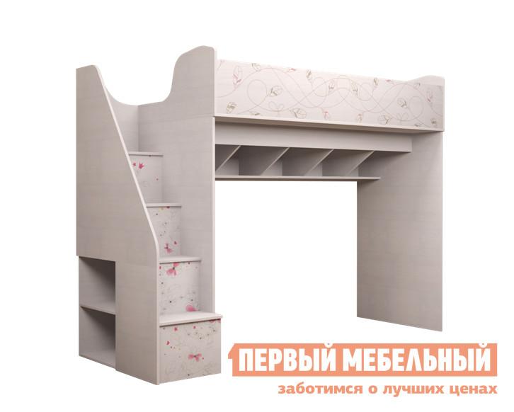Кровать-чердак ТД Арника Принцесса (18) шкаф для одежды тд арника принцесса 01 принцесса 01 принцесса 02