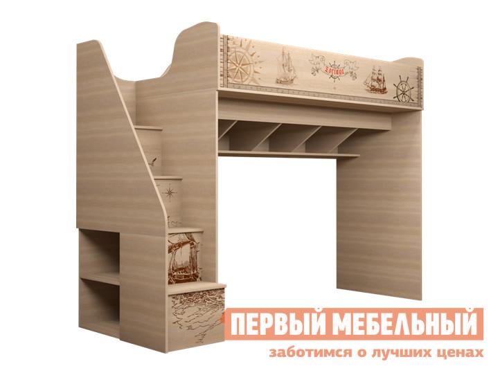 Кровать-чердак ТД Арника Квест (18) детская кровать чердак с игровой зоной внизу тд арника ид 01 163а