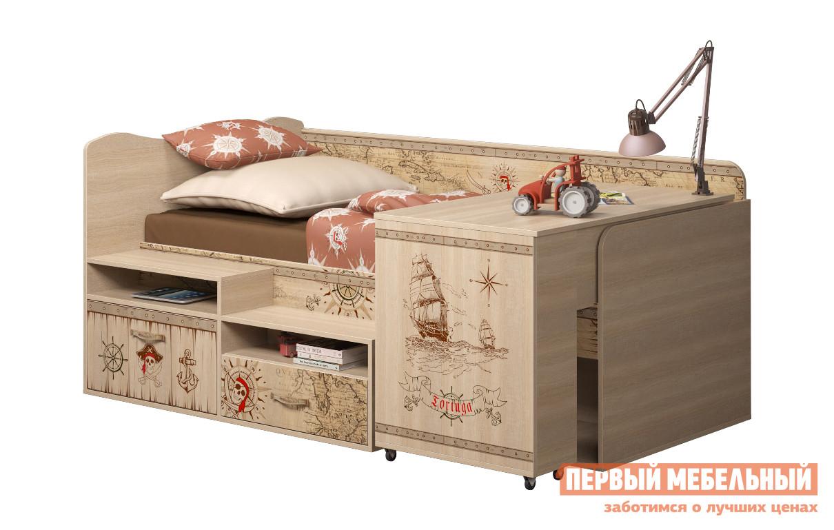 Кровать-чердак ТД Арника Квест (12) детская кровать чердак с игровой зоной внизу тд арника ид 01 163а
