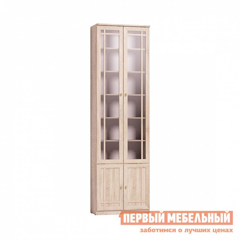 Шкаф-витрина  Sherlock 32 (библиотека) Шкаф для книг Дуб Сонома Глазов 83771
