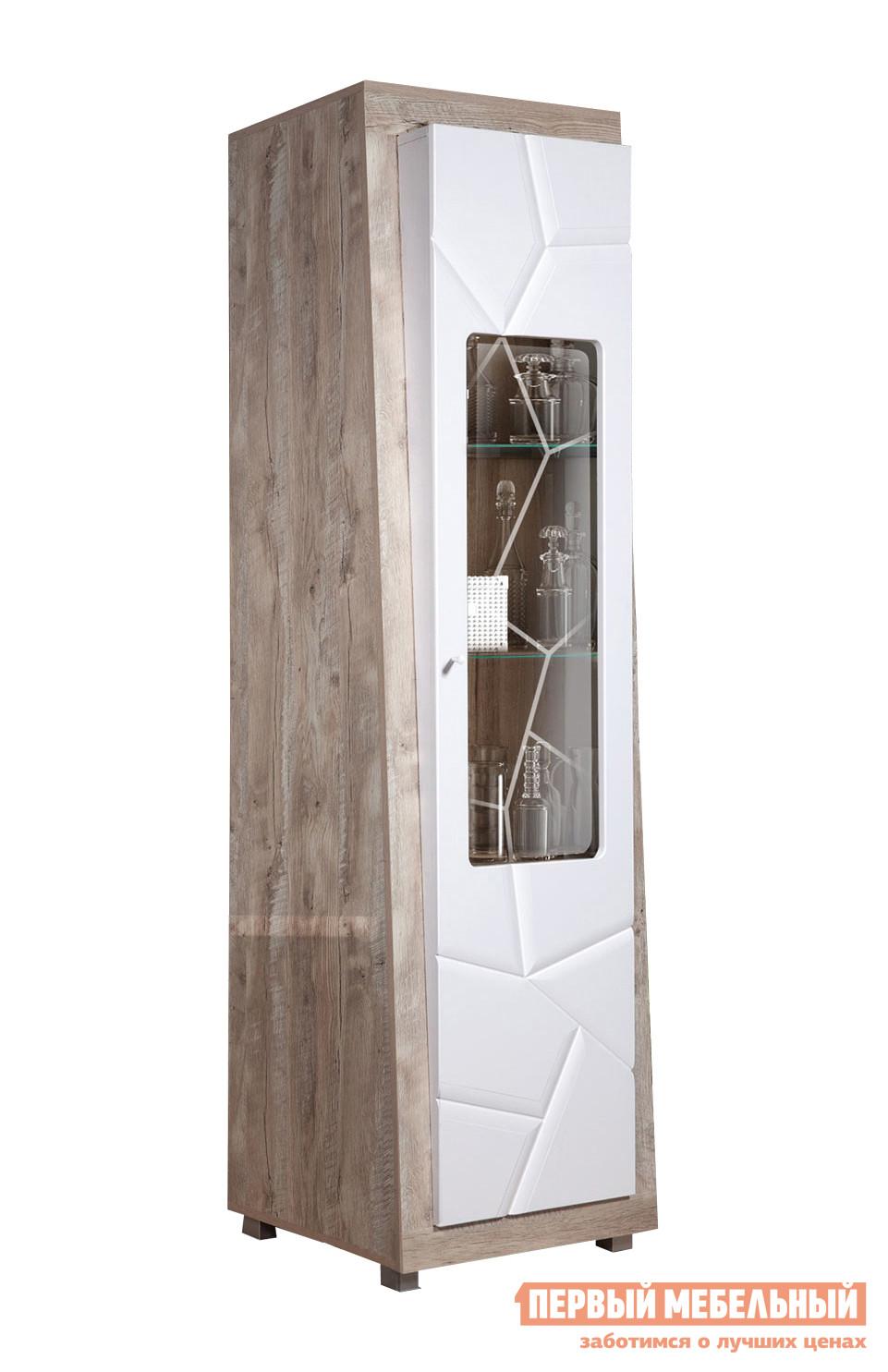 Шкаф-витрина ТД Арника Шкаф с витриной «Л Кензо 1» КМК 0674.22 / Шкаф с витриной «П Кензо 1» КМК 0674.23