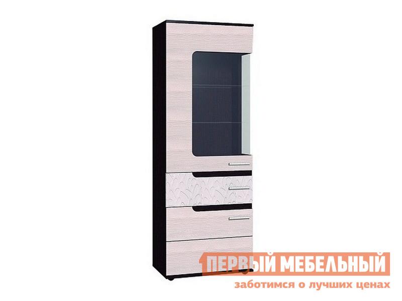 Шкаф-витрина Первый Мебельный Wyspaa 1 тумба под телевизор первый мебельный wyspaa 9 light