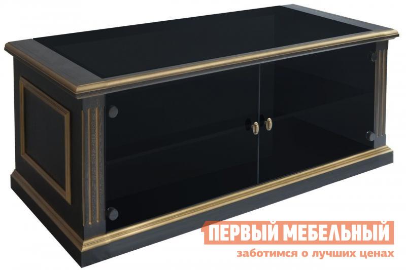 ТВ-тумба Akur Design Studio Akur T 700 D (каркас черный глянцевый)