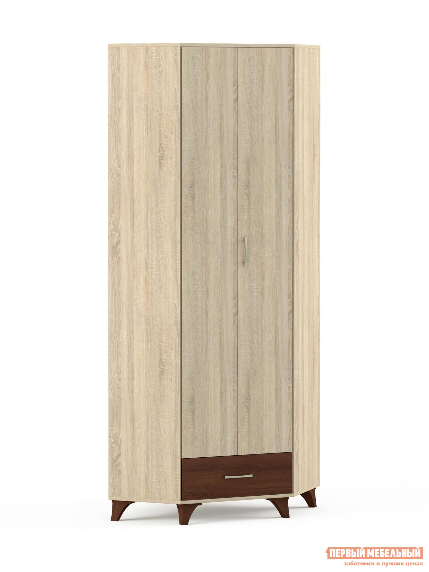 Угловой шкаф Первый Мебельный Келли Шкаф П угловой