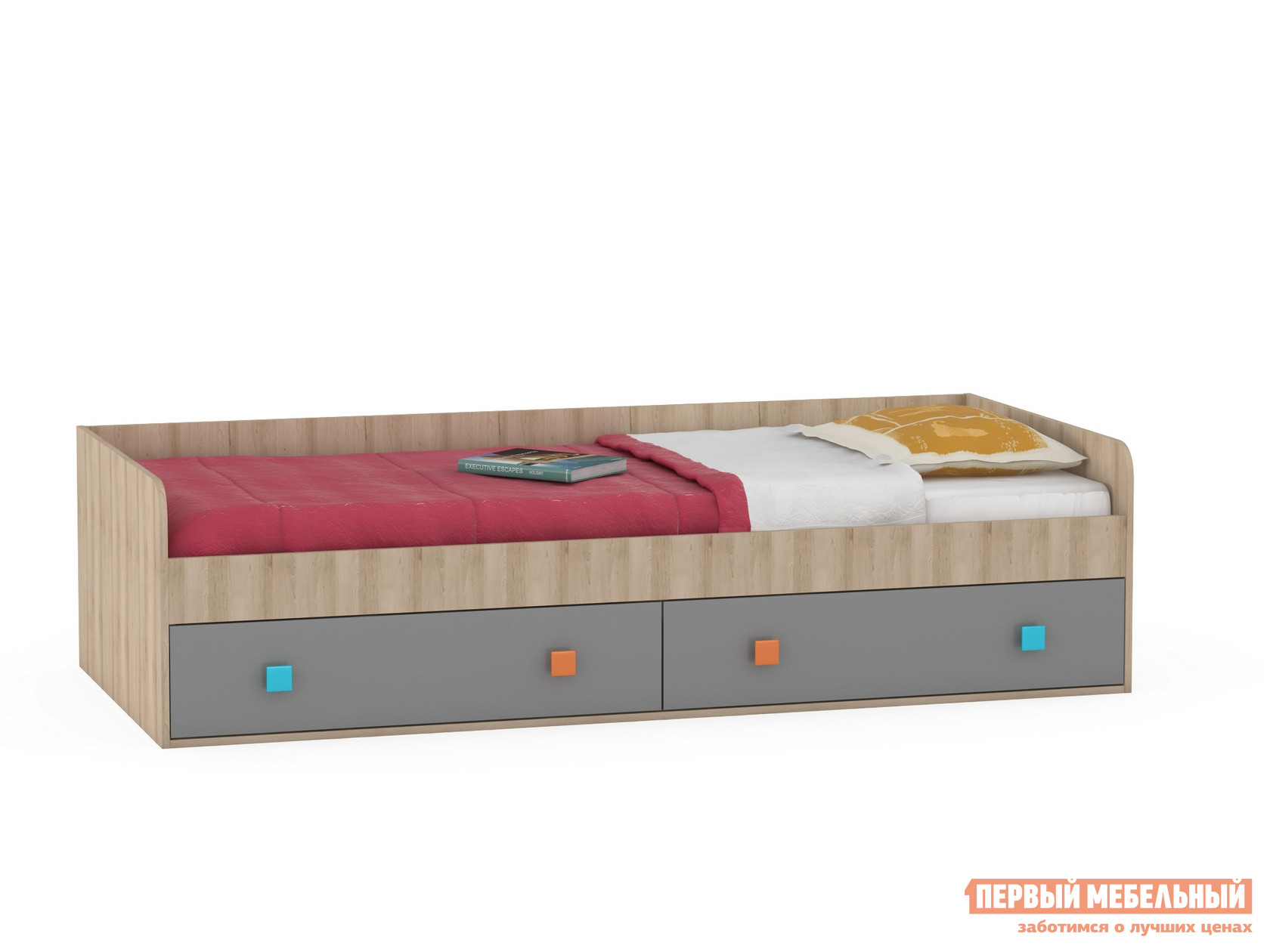 Детская кровать Первый Мебельный Доминика 453 К Кровать