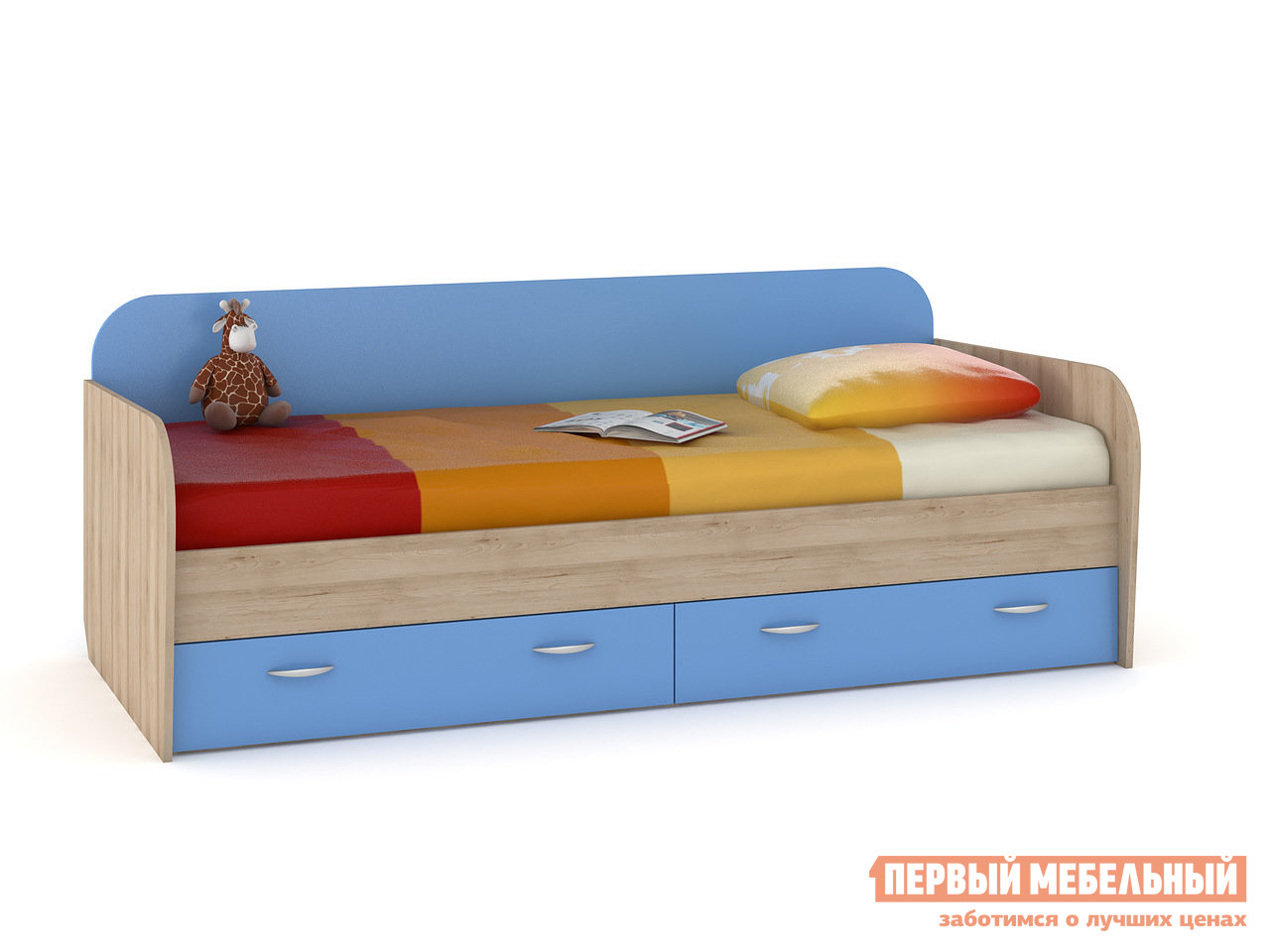 Детская кровать Первый Мебельный Ника 424 Кровать