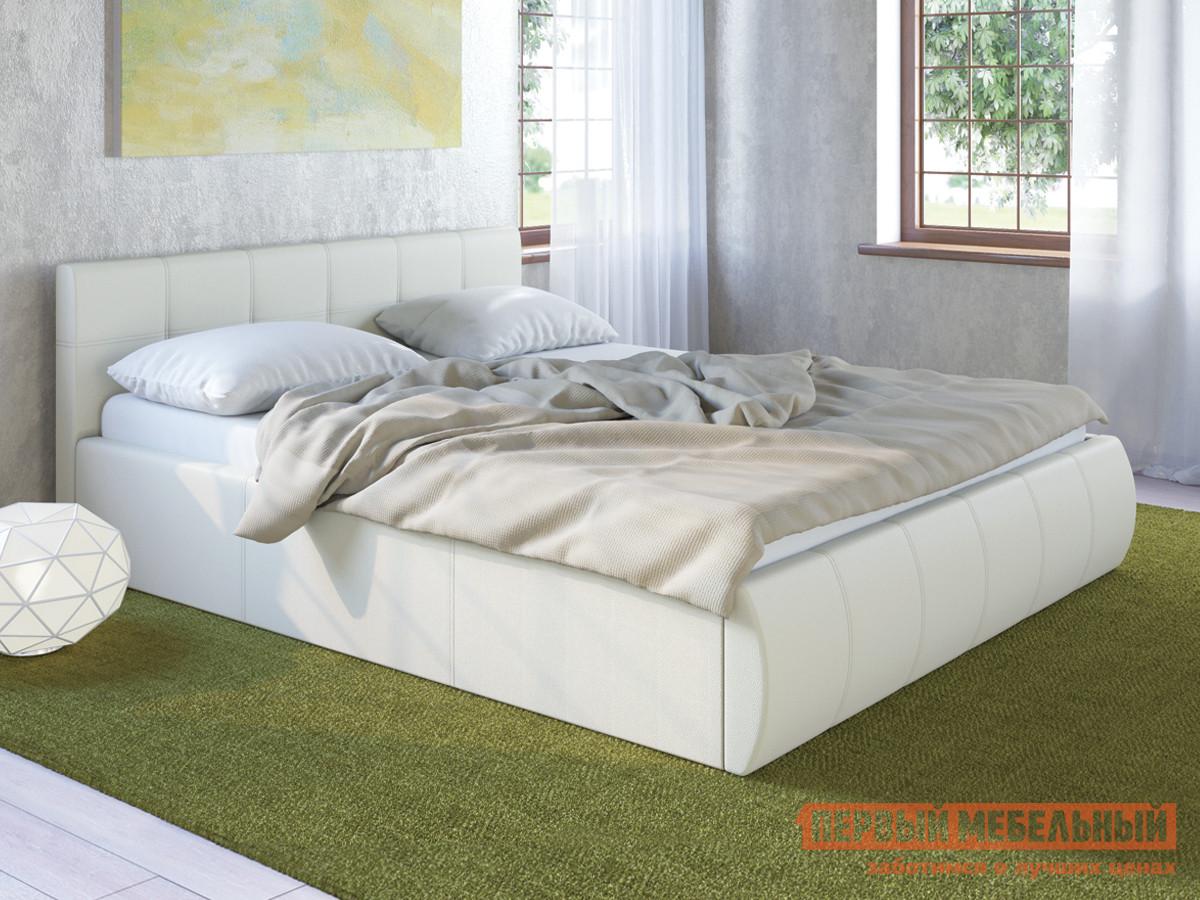 Двуспальная кровать с подъемным механизмом Первый Мебельный Афина 2812 кровать двойная