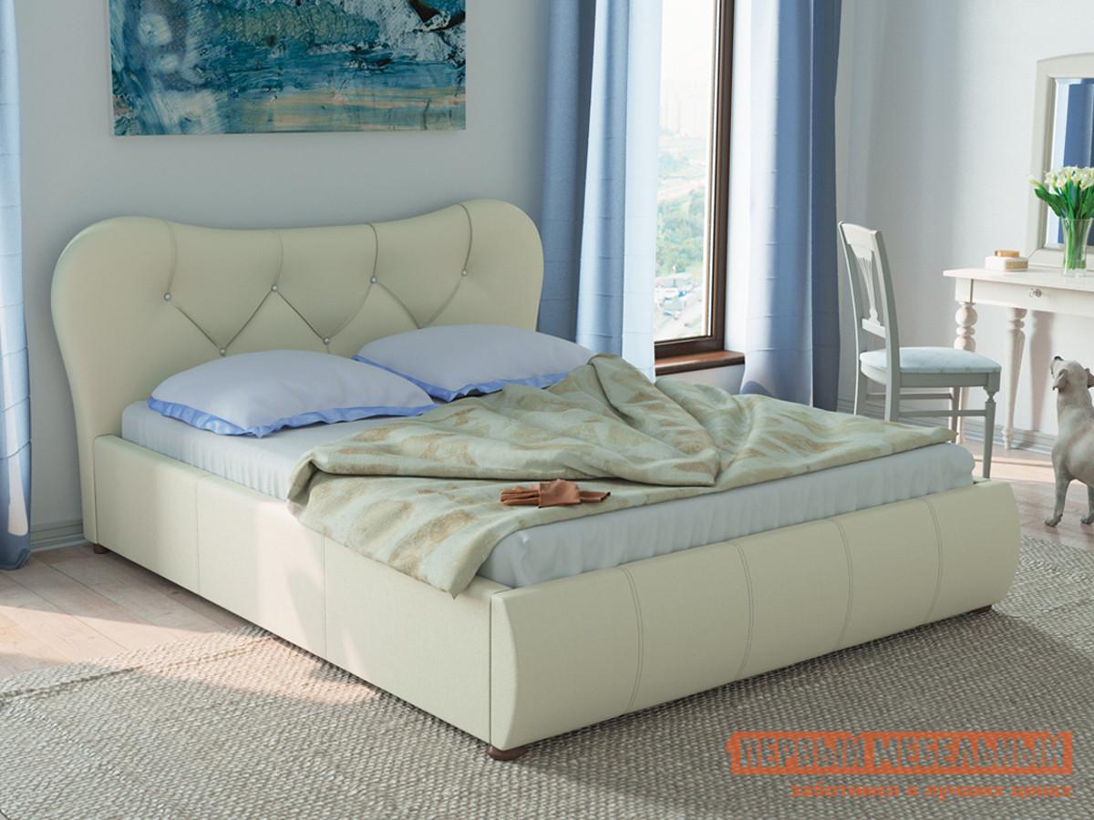 Двуспальная кровать с подъемным механизмом Первый Мебельный Лавита 253 160 кровать двойная