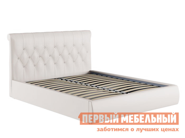 Двуспальная кровать Первый Мебельный Кровать Тиффани с ПМ пм 04 туризм