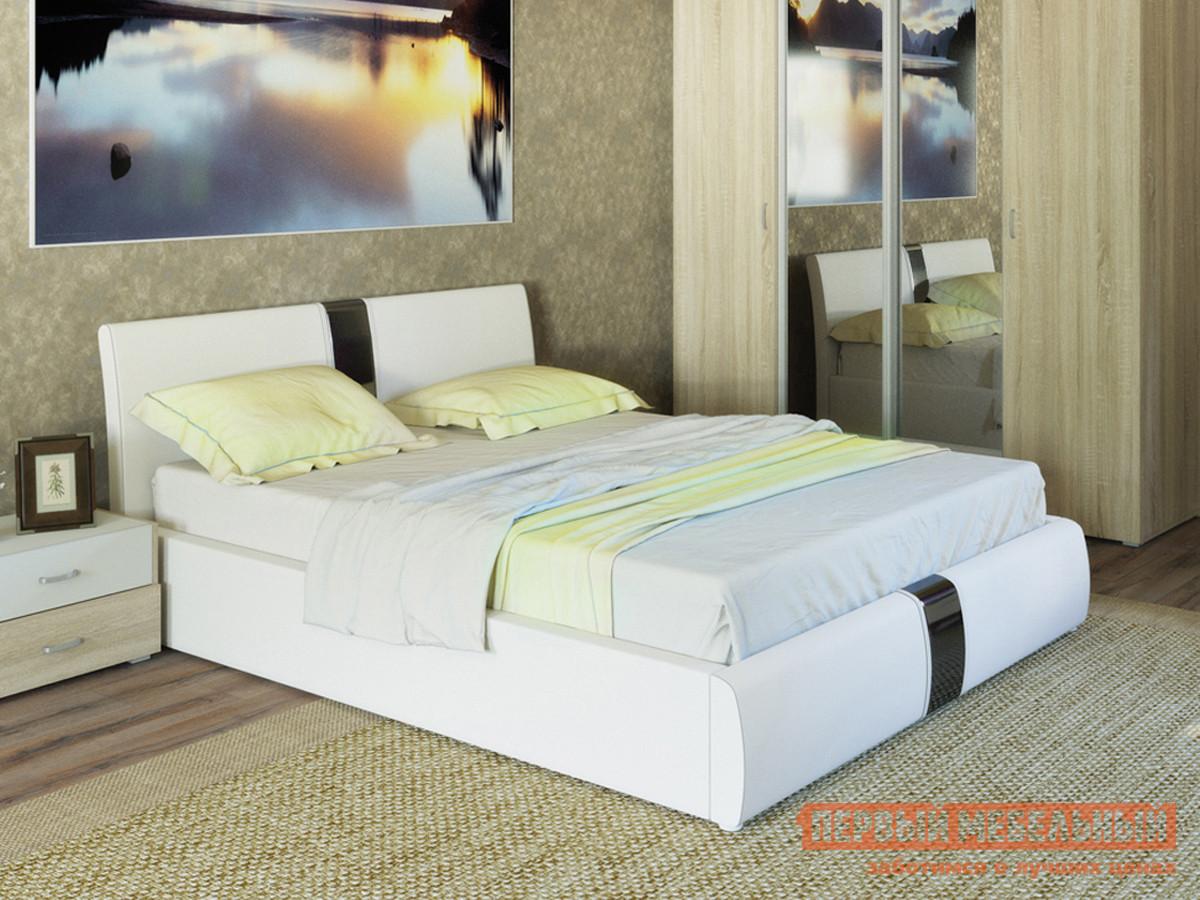 Двуспальная кровать с подъемным механизмом Первый Мебельный Челси кровать двойная