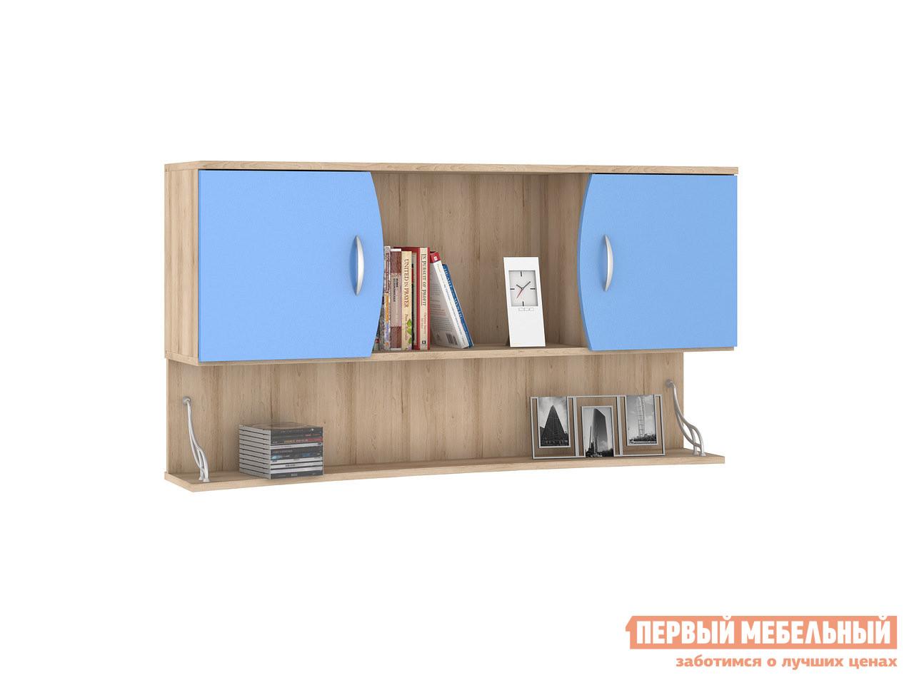 Шкаф навесной Первый Мебельный Ника 415 Шкаф навесной навесной шкаф первый мебельный шкаф навесной длинный маркиза