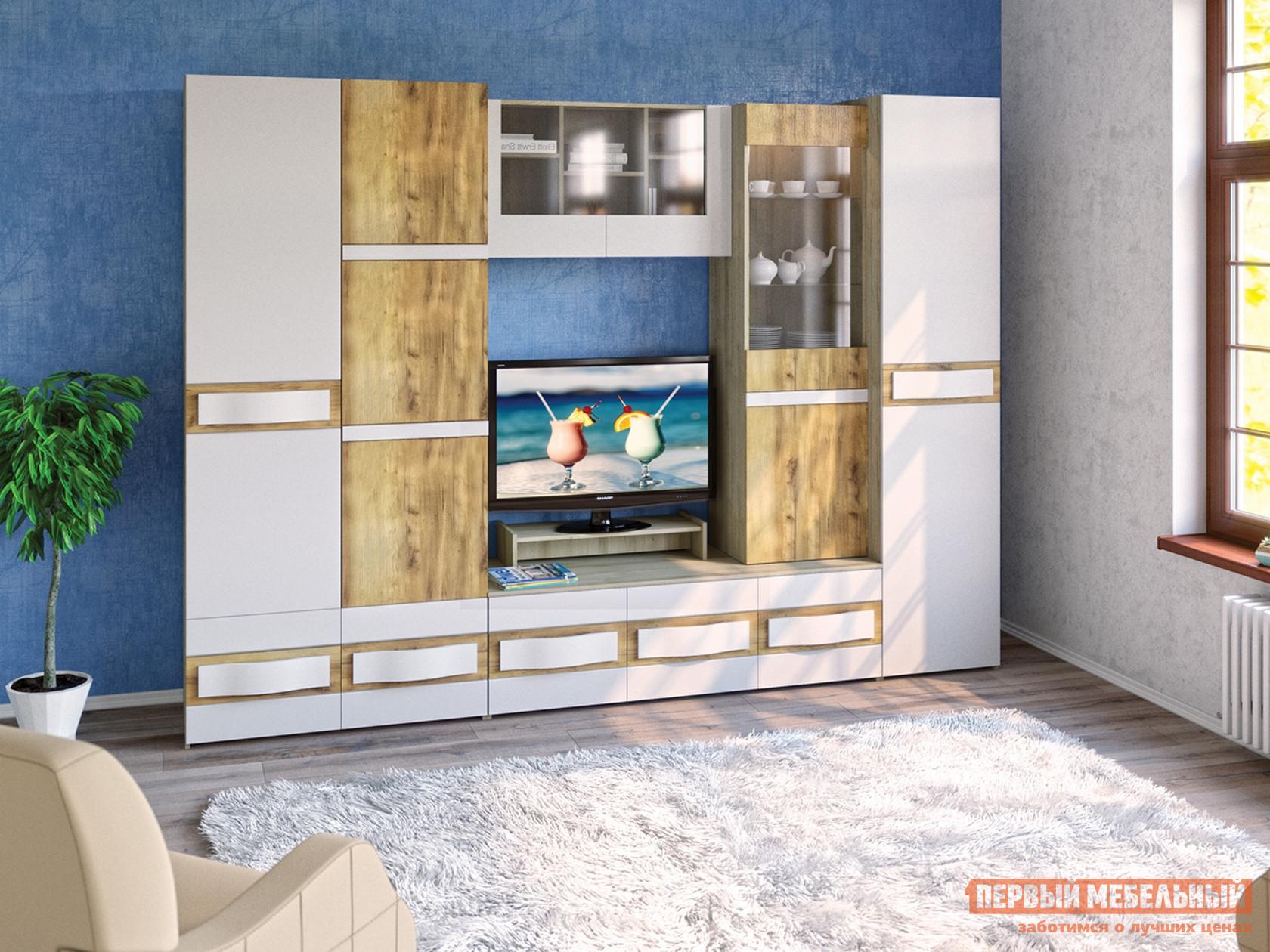 Стенка для гостиной MOBI Лакки 1 Набор мебели набор мебели для гостиной эйва