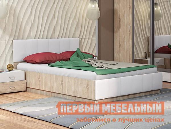 Полутороспальная кровать Первый Мебельный Линда 303 140 кровать с ПМ полутороспальная кровать первый мебельный кровать ненси 1 4м