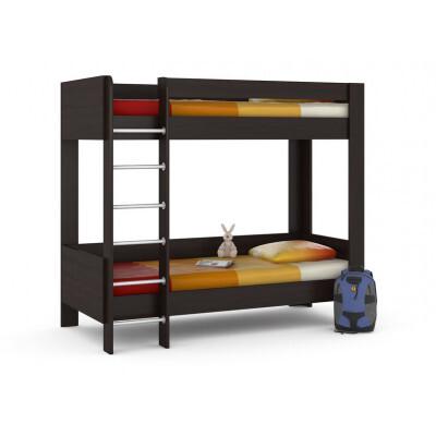 Кровать MOBI Ника 438 М Кровать двухъярусная Венге Магия