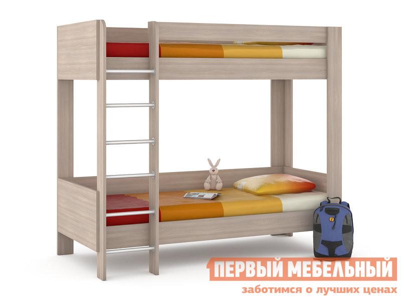 Матрас детский  Ника 438 М Кровать двухъярусная Ясень Шимо светлый от Купистол