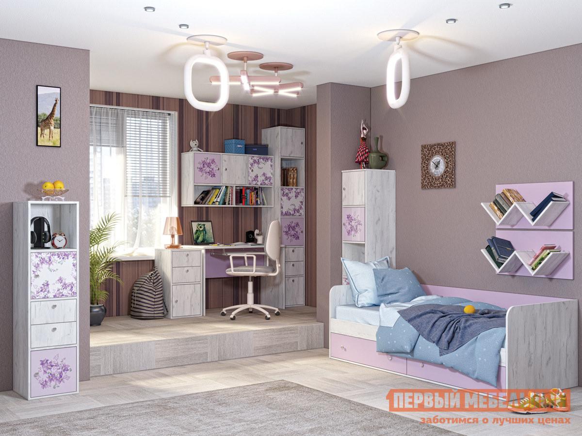 Комплект детской мебели Первый Мебельный Тетрис К3 комплект из прессованной бирюзы леди 2 к3 пбр 3374