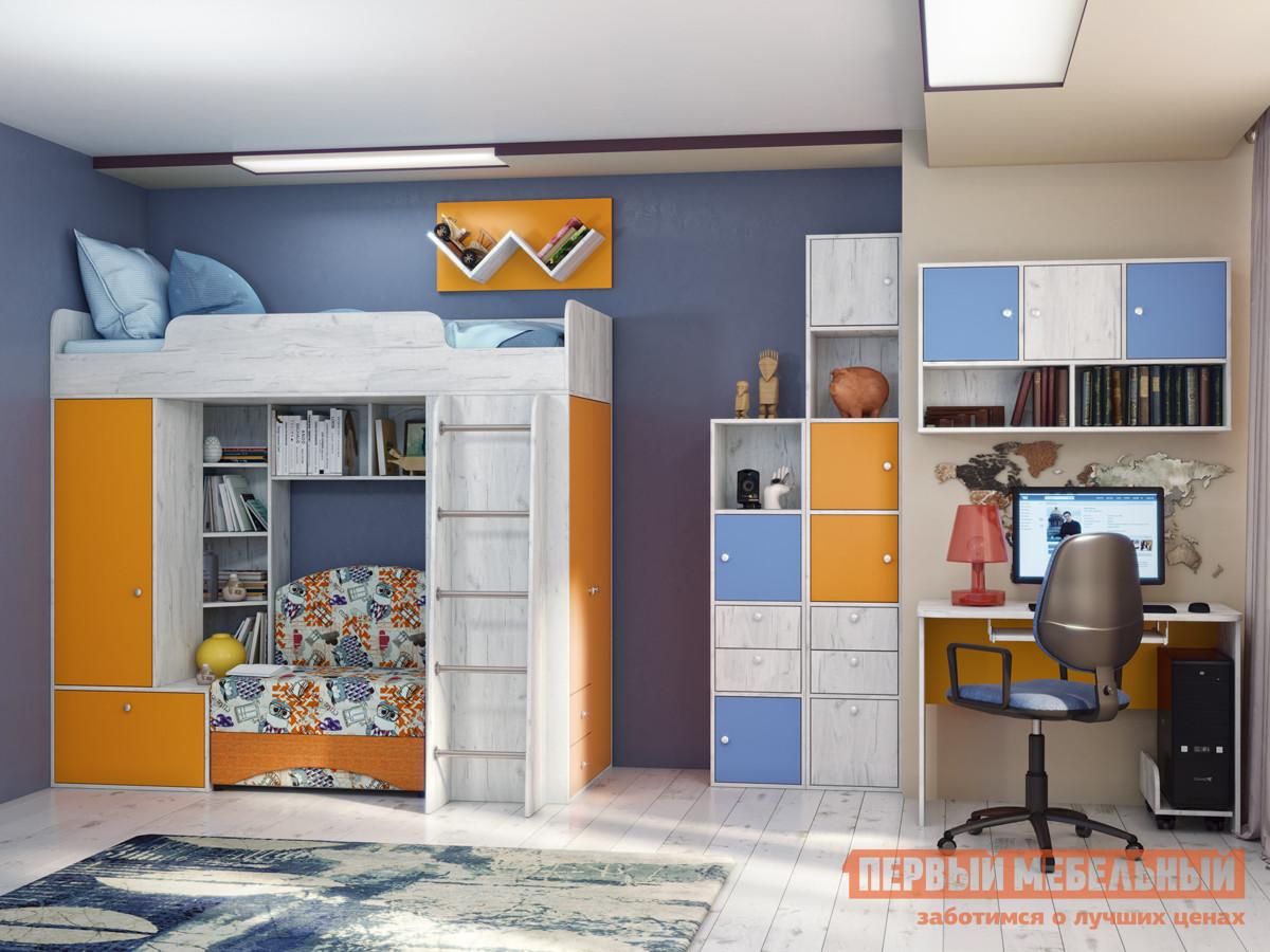 Комплект детской мебели Первый Мебельный Тетрис К1 комплект детской мебели джери с оранжевым столиком