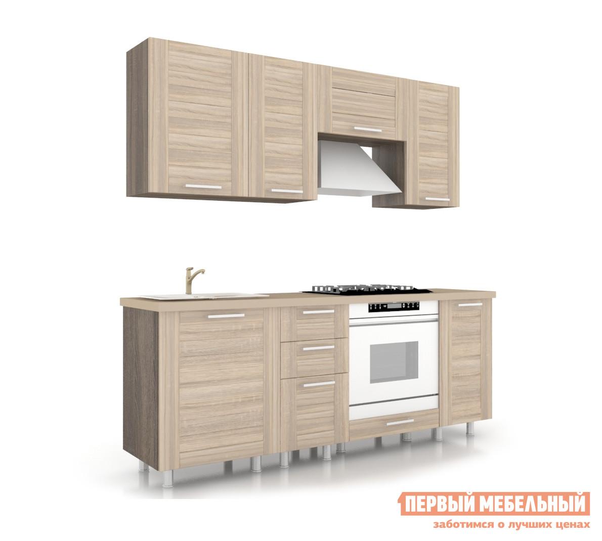 Кухонный гарнитур Любимый дом Анастасия 200 см Сонома кухонный гарнитур трия оливия 180 см