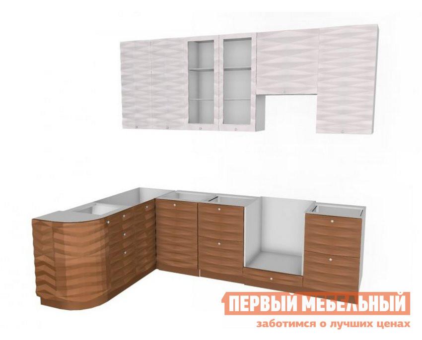 Кухонный гарнитур угловой Любимый дом Кристалл ЛК3