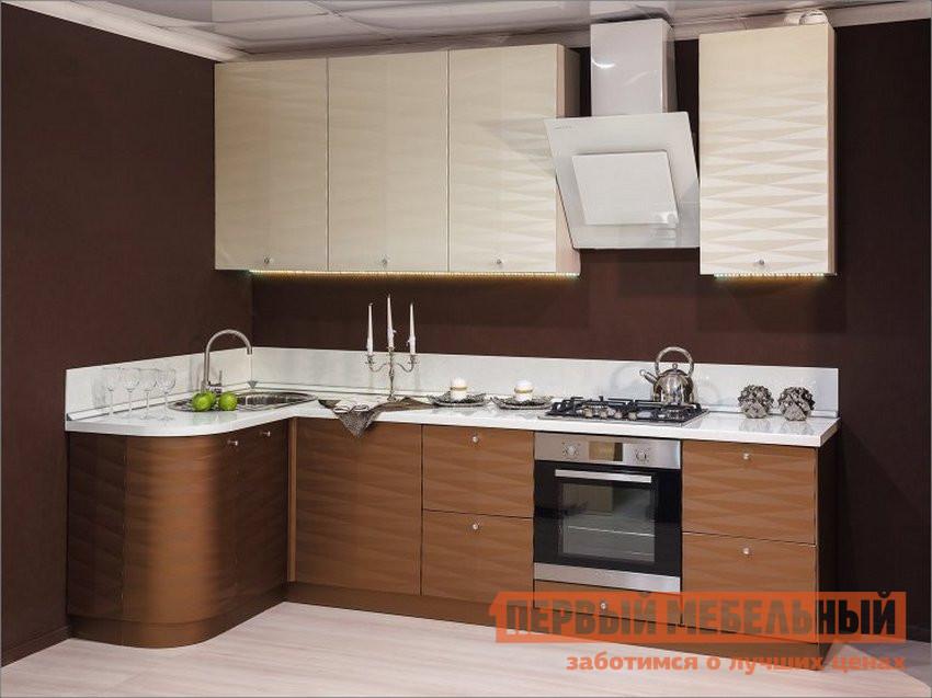 Кухонный гарнитур угловой Любимый дом Кристалл ЛК1