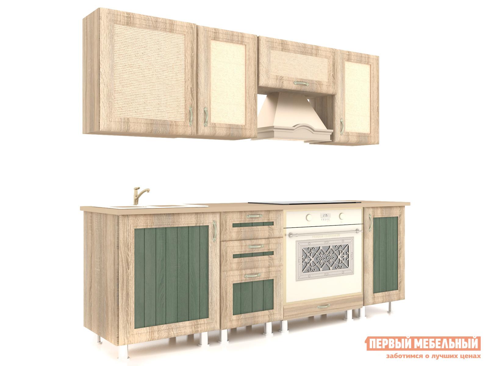 Кухонный гарнитур Любимый дом Кантри 200 см Сонома любимый дом кухонный гарнитур анастасия