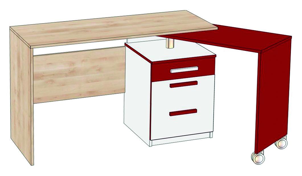 Купить письменный стол алиса (стол) мка-003 за 15550.000 руб.