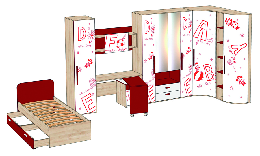 Письменный стол ЛД 506.070 КупиСтол.Ru 7420.000