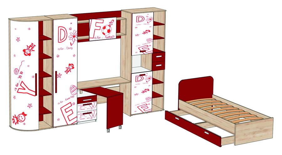 Письменный стол ЛД 506.060 КупиСтол.Ru 7420.000