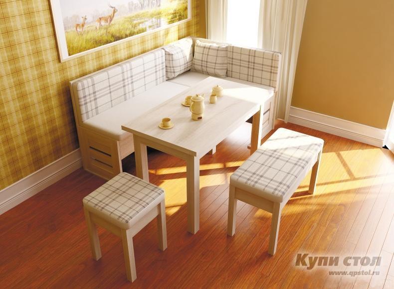 Кухонный уголок ЛД 263.010 (СИТИ)