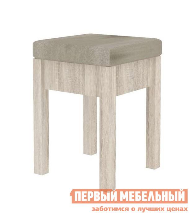 Табурет Любимый дом ЛД 263.030 (СИТИ) Сонома эйч светлая / МэшТабуреты<br>Габаритные размеры ВхШхГ 480x355x355 мм. Мягкий пуф-табурет для кухни или дачного домика всегда обеспечит лишнее место за обеденным столом. Пуф выполняется в светлом или темном варианте. Корпус изготавливается из ЛДСП, ножки — МДФ.  Обивка производится из винилискожи с рисунком в мягком цветом решении.<br><br>Цвет: Сонома эйч светлая / Мэш<br>Цвет: Светлое дерево<br>Высота мм: 480<br>Ширина мм: 355<br>Глубина мм: 355<br>Форма поставки: В разобранном виде<br>Срок гарантии: 24 месяца<br>Назначение: Для кухни<br>Материал: Деревянные, из ЛДСП, из МДФ<br>Форма: Квадратные<br>Особенности: С мягким сиденьем