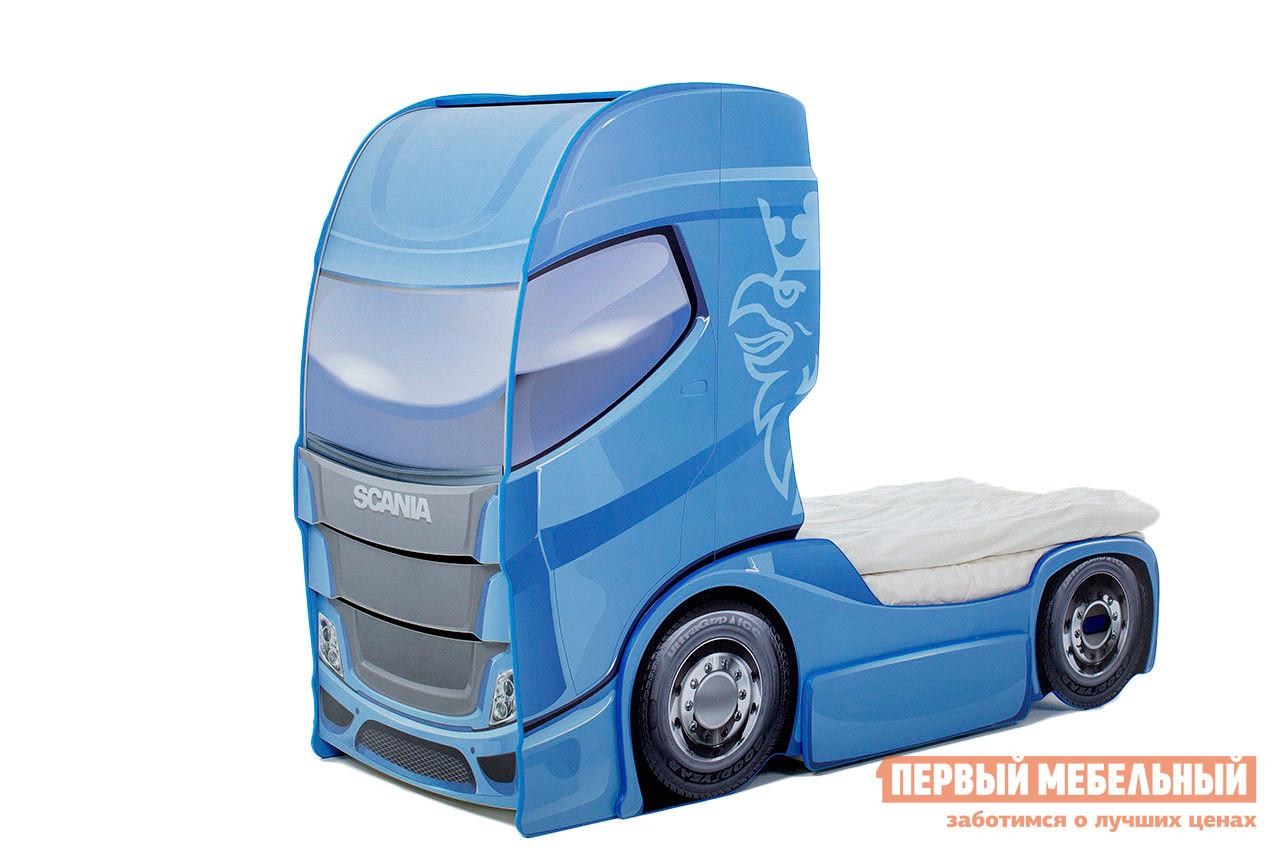 Кровать-машина  Скания+1 Синий