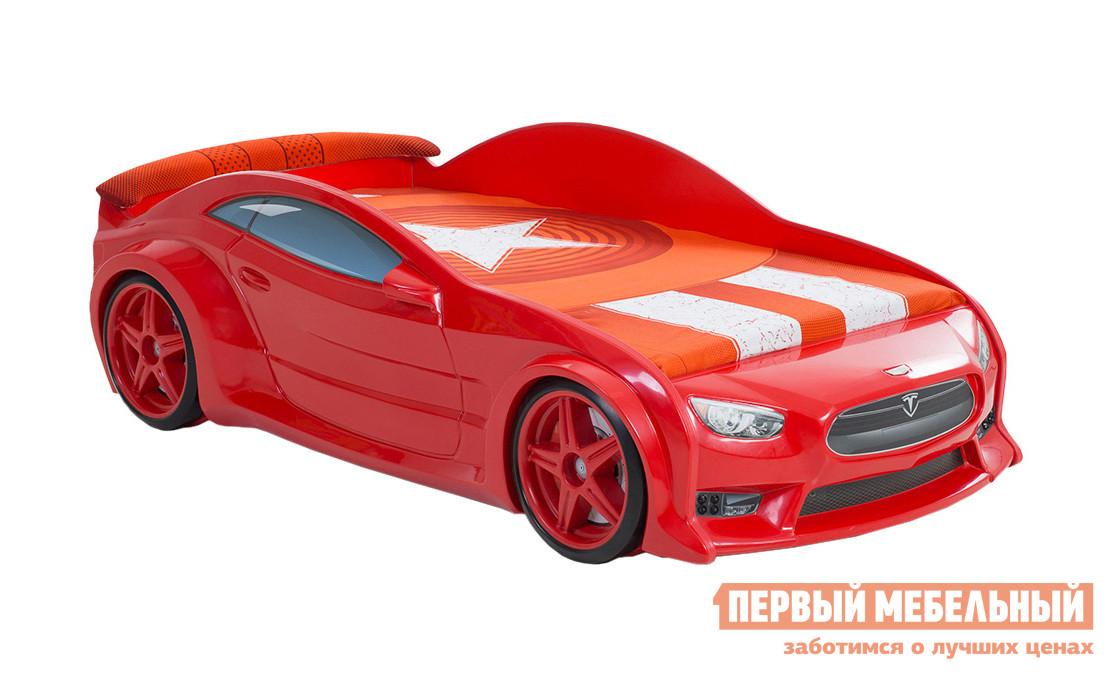 Детская кровать-машина из пластика Bed-mobile Тесла-EVO alfa 18033