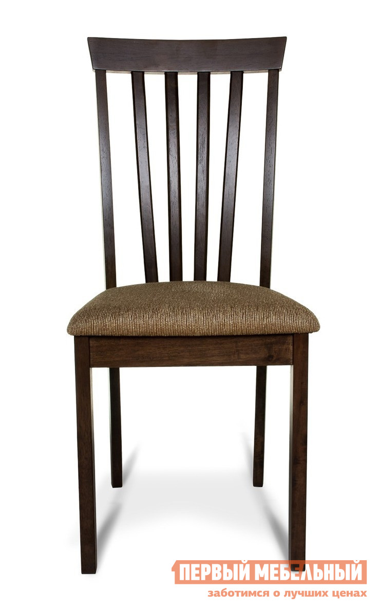Стул Mr. Kim Стул ES 2003 ESPRESSOСтулья для кухни<br>Габаритные размеры ВхШхГ 950x430x420 мм. Прекрасный вариант стула в гостиную или обеденную зону.  Классика исполнения, практичность и комфорт. Высота от пола до сидения — 450 мм. Стул выполнен из массива гевеи – малазийского дерева, отличающегося своей повышенной прочностью.  Подойдет для любого интерьера.<br><br>Цвет: Коричневое дерево<br>Высота мм: 950<br>Ширина мм: 430<br>Глубина мм: 420<br>Форма поставки: В разобранном виде<br>Срок гарантии: 1 год<br>Тип: Для гостиной<br>Материал: Дерево<br>Материал: Натуральное дерево<br>Порода дерева: Гевея<br>С мягким сиденьем: Да